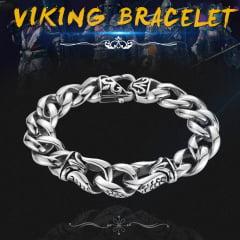 Pulseira estilo Nórdico jóias em Aço Inoxidável 316l Vikings