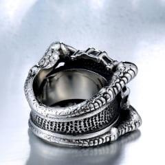 Anel masculino/caveira-crânio em Aço Inoxidável 316L alta qualidade