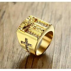 Anéis masculino/cristão em aço inoxidável 316L alta qualidade
