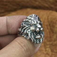 Anel masculino Leão uma joia unica feita a mão na mais pura prata esterlina 925 perfeito uma joia para quem procura algo de personalidade uma joia realmente especial  marcante o presente perfeito.