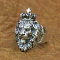 Anel masculino Rei Leão uma joia unica feita a mão na mais pura prata esterlina 925 perfeito uma joia para quem procura algo especial marcante o presente perfeito.