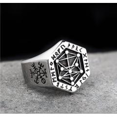 Anéis masculino/Vikings em aço inoxidável 316L alta qualidade