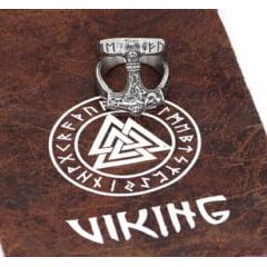 Anel masculino Vikings Mjölnir em aço inoxidável 316L alta qualidade