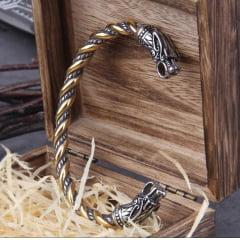Bracelete Vikings original da serie Vikings em aço inoxidável 316L  não enferruja e nunca perde o brilho joia pra vida toda