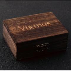 Pulseira  original da serie Vikings em aço inoxidável dourada e prata  não enferruja nunca perde o brilho e nem a cor,